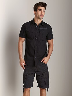 G-Star Armoured Poplin Shirt Raven