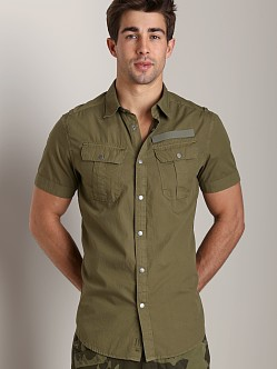 G-Star Armoured Poplin Shirt Sage