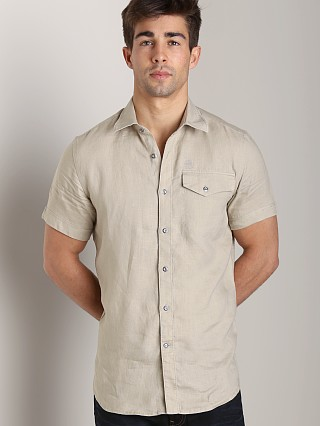 Complete the look: G-Star RCT Tacoma Linen Shirt Khaki