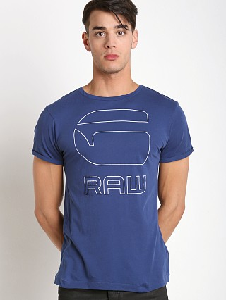 Complete the look: G-Star Manor Graphic T-Shirt Electric Blue