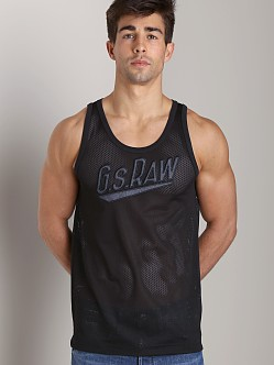G-Star Pittman Mesh Tank Top Black