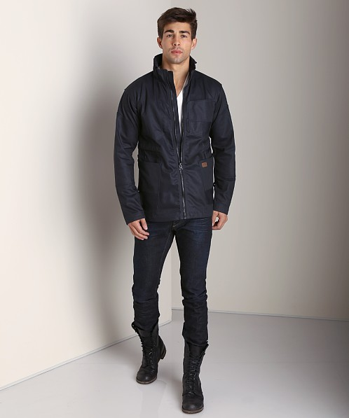 G-Star Faeroes Military Jacket Blue Brace Denim