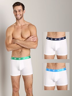 Cristiano Ronaldo CR7 Stretch Cotton Trunk 3-Pack White