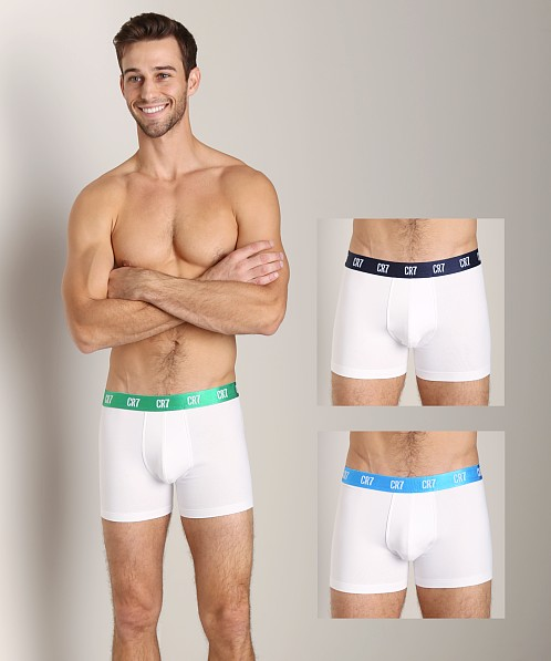 Cristiano Ronaldo 3 Pack White Briefs - White CR7 Cristiano Ronaldo Free Shipping Pay With Paypal Outlet Many Kinds Of Best Place Sale Online DovG1Z