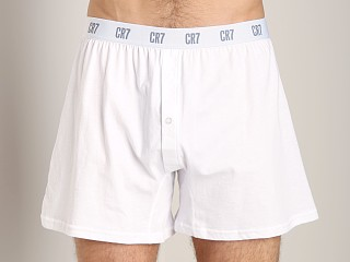 Cristiano Ronaldo CR7 100% Cotton Boxer 3-Pack White