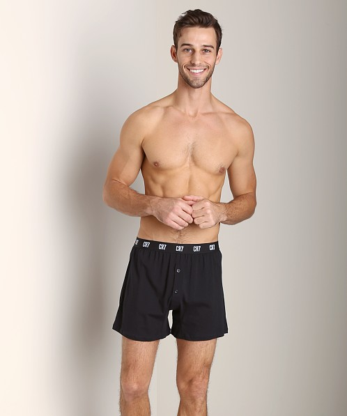 Cristiano Ronaldo CR7 100% Cotton Boxer 3-Pack Black