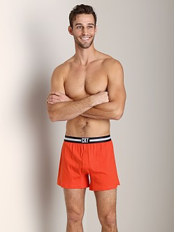 Cristiano Ronaldo CR7 Fashion Cotton Boxer Solid Orange