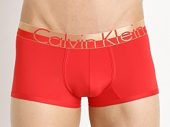Calvin Klein Holiday Low Rise Trunk Ignite Red