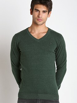 Diesel K-Benti Cotton Stretch Sweater Olive
