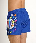 Diesel Only The Brave Sandy Swim Shorts Blue, view 4
