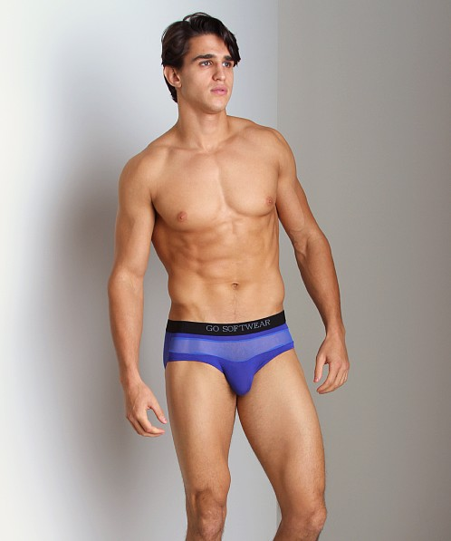 Go Softwear B-Erotic Tease Brief Cobalt Blue