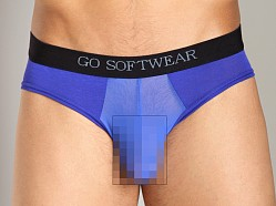 Go Softwear B-Erotic Cheek Brief Cobalt Blue