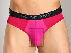 Go Softwear B-Erotic Cheek Brief Raspberry