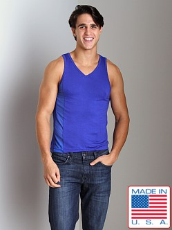 Go Softwear B-Erotic Reveal V-Neck Tank Top Cobalt Blue