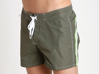 "Sundek 14"" Classic Boardshort Dark Army Green #3"