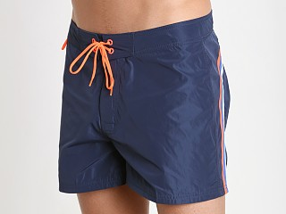 "Sundek 14"" Poly Stretch Swim Trunk Navy #2"