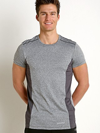 2xist Sport Tech Performance T-Shirt Charcoal Grey