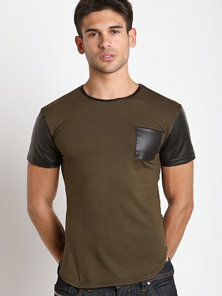 Complete the look: Timoteo Brooklyn Crew Neck Tee Olive