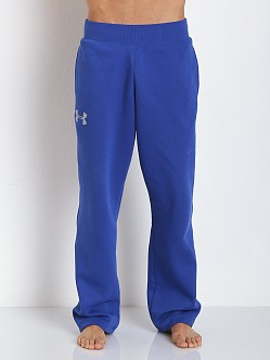 Under Armour Rival Cotton Sweat Pants Royal Blue