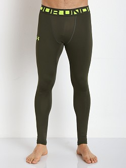 Under Armour Evo ColdGear Compression Leggings Rifle Green