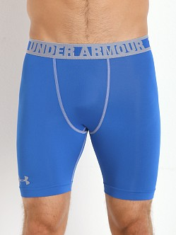 Under Armour HeatGear Sonic Compression Short Scatter Blue