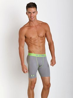 Under Armour HeatGear Sonic Compression Short Steel Print