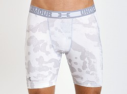 Under Armour HeatGear Sonic Compression Short White