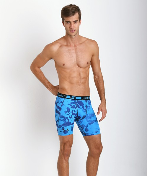 Under Armour HeatGear Sonic Compression Short Blue