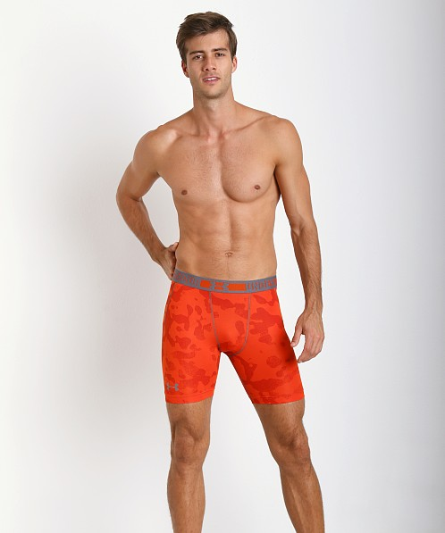 Under Armour HeatGear Sonic Compression Short Volcano Red