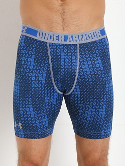 Under Armour HeatGear Sonic Compression Short Scatter Print