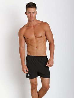 Under Armour HeatGear Flyweight Running Short Black