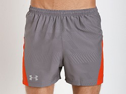 Under Armour HeatGear Flyweight Running Short Graphite