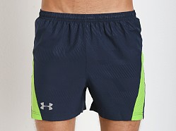 Under Armour HeatGear Flyweight Running Short Academy Blue
