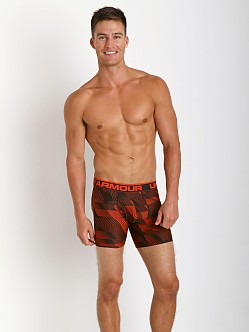 Under Armour Limited Edition BoxerJock Volcano Red Print