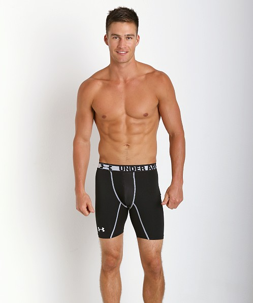 Under Armour HeatGear Sonic Cup Compression Short Black