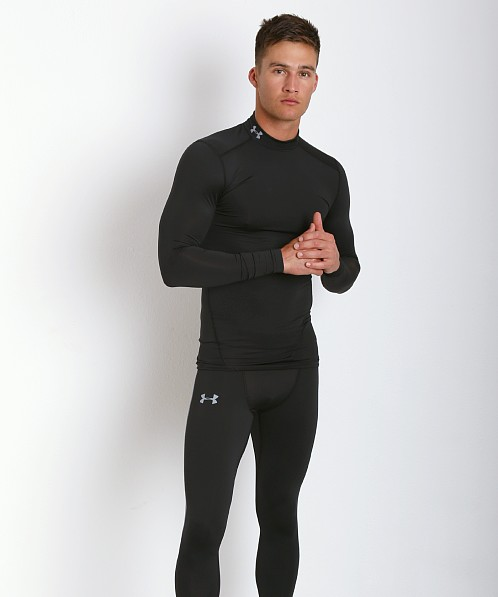 Under Armour Evo ColdGear Compression Mock Black
