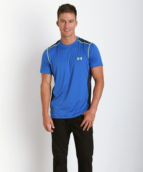 Under Armour Armourvent Shortsleeve Tee Scatter Blue