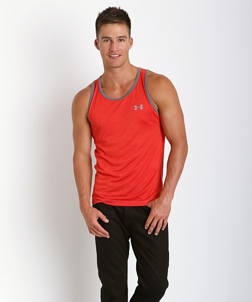 Under Armour Tech Tanktop Risk Red