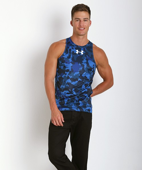 Under Armour Renegade Camo Tanktop Scatter Blue