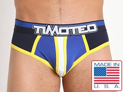 Timoteo Magnitude Backless Brief Navy/White