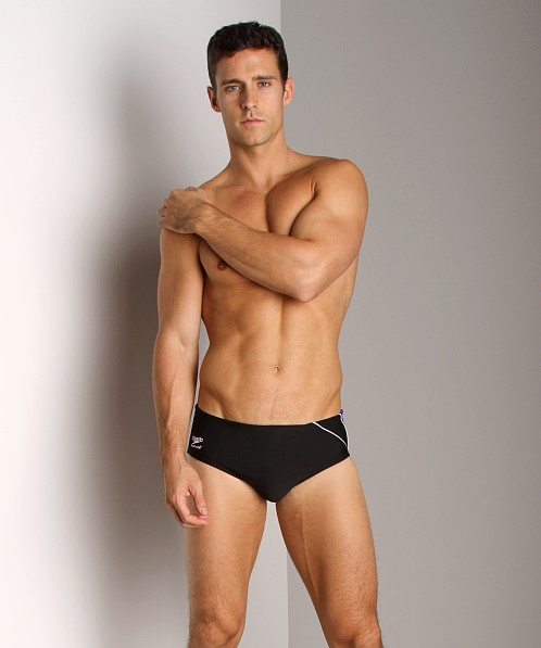 Speedo Mercury Splice Swim Brief Black/Purple