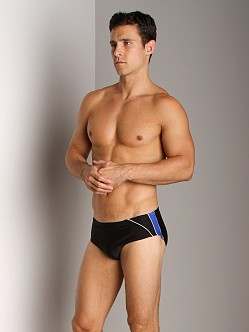 Speedo Mercury Splice Swim Brief Black/Blue