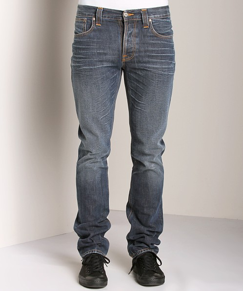 Nudie Jeans Grim Tim Blue Bentley