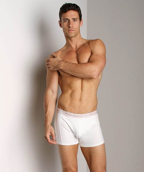Nudie Jeans Organic Cotton Boxer Offwhite