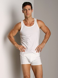 Nudie Jeans Organic Cotton Tank Top Offwhite