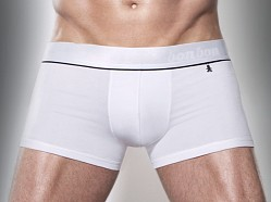 Bon Bon Bodywear Trunk White