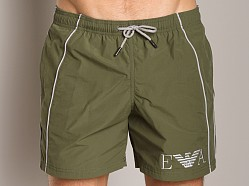 Emporio Armani Seven Stripes Techno Swim Shorts Musk