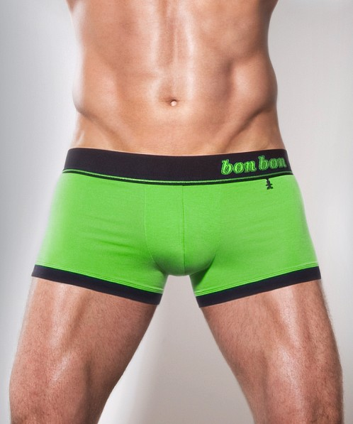 Bon Bon Bodywear Colours Trunk Green