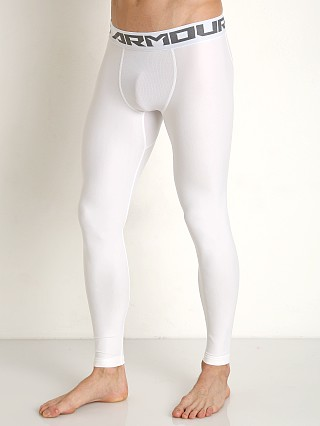 Complete the look: Under Armour Heatgear Compression Leggings White/Graphite