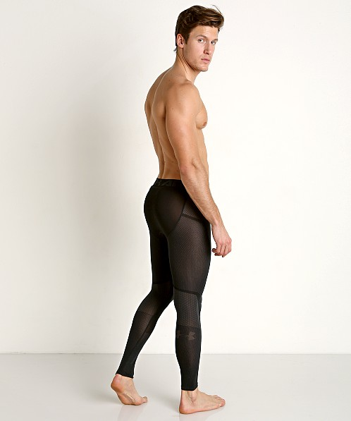Under Armour Threadborne Seamless Leggings Black/Stealth Gray